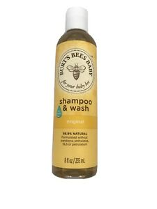 Burt's Bees Baby Shampoo and Wash No Tears Original Formula 8 oz