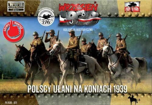 Polish Ulanen On Horseback 1939-1:72 First To Fight 071