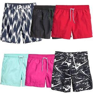 2b8ab47a5a Mens Ex H&M Swimming Shorts Printed Plain Summer Surf Board Bottoms ...