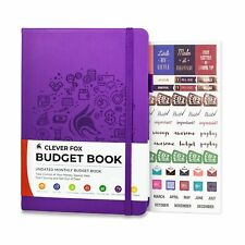Clever Fox Budget Book Financial Planner Organizer Amp Expense Tracker Notebo