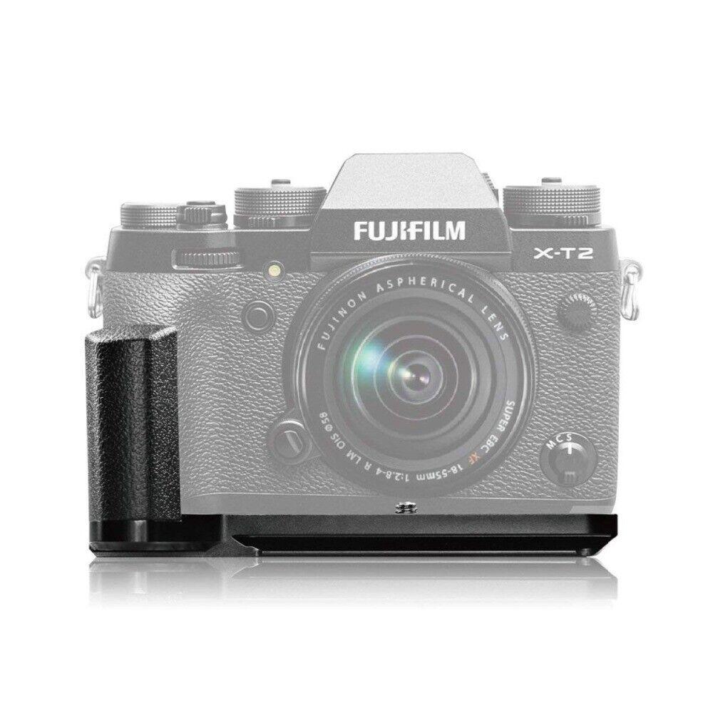 Meike MK-XT2G Quick Release L Plate Bracket Hand Grip For Fujifilm Fuji XT2 X-T2