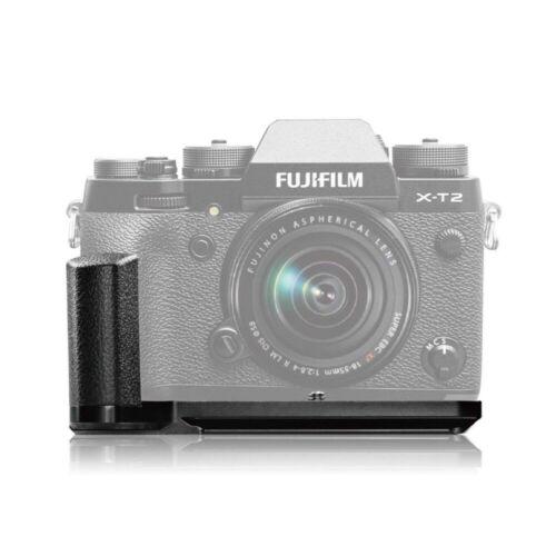 Meike MK-XT2G soporte de placa de liberación rápida L mano agarre para Fujifilm Fuji XT2 X-T2