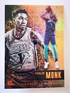 Panini Essentials 2017-18 card carte NBA Charlotte Hornets #91 Malik Monk