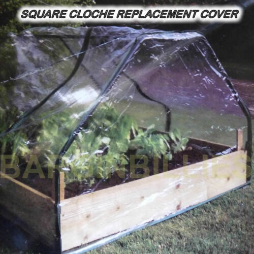 Square Cloche Replacement Cover Polypropylene Grow House Protector Herbs Flowers