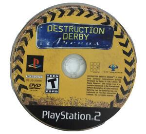 Destruction Derby Arenas PlayStation 2 PS2 Game Disc Only 19z
