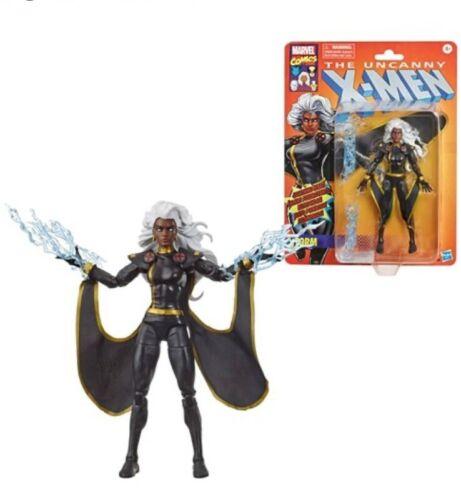 Exclusive X-Men Retro Marvel Legends 6-Inch Black Outfit Storm Action Figure