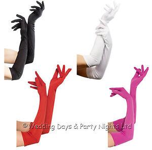 Sexy-Long-Elbow-Gloves-Flapper-20s-Fancy-Dress-Opera-Ladies-Halloween-Xmas-Santa