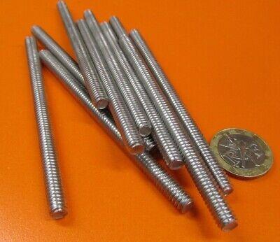 "2 Units 3//8/""-16 x 1 Foot Long RH Aluminum 6061 T6 Threaded Rods"