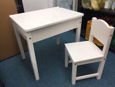 Schreibtisch Tisch Schulbank Sitzbank Ikea Sundvik Weiß Massivholz On08wPk