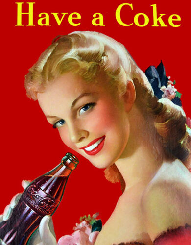 Have a Coke Poster reproduction