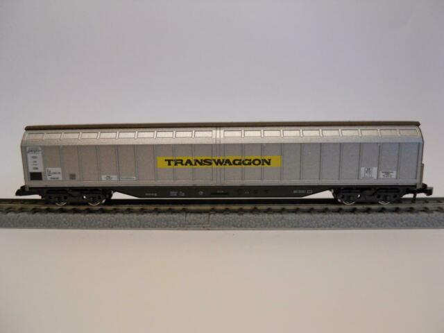 MÄRKLIN MINICLUB 82411 Großraum-Schiebewandwagen TRANSWAGGON (34808)