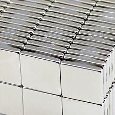 Lot 10 25 50 Super Block Magnets 1x1x18 Inch Rare Earth Neodymium N50