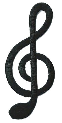 Wappen Flicken Violinschlüssel Musik Patch DIY Heißklebend