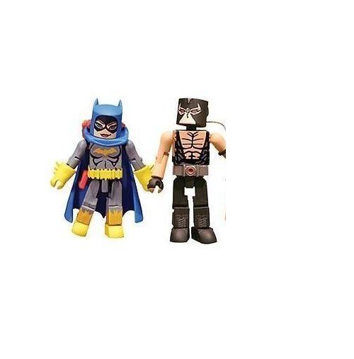 Dc Universe Minimates Series 4 Batgirl and Bane Diamond Select JC