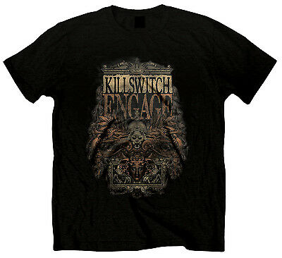 Official KILLSWITCH ENGAGE Army T-shirt Black Sizes S to XXL