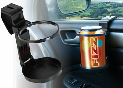 New UNIVERSAL Sakura In Car Drinks Cup Bottle Can Holder Foldable & Clip On