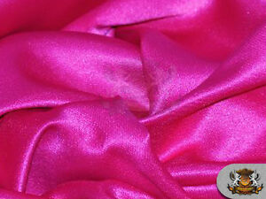 Satin Crepe solid Shimmer Dress wedding tablecloth pink  Fabric 60 Wide  Sold By the yard