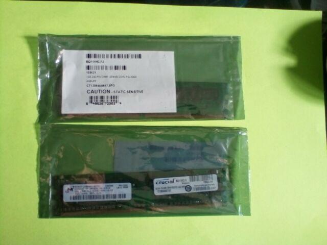 Crucial CT12864AA667 (1 GB, PC2-5300 (DDR2-667), DDR3 SDRAM, 667 MHz, UDIMM) RAM