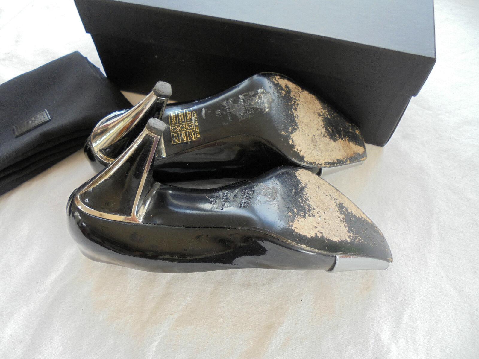 Original HUGO BOSS Lackleder Pumps NP: High  TOP Luxus Schuhe High NP: Heels Gr. 37 a27f2c