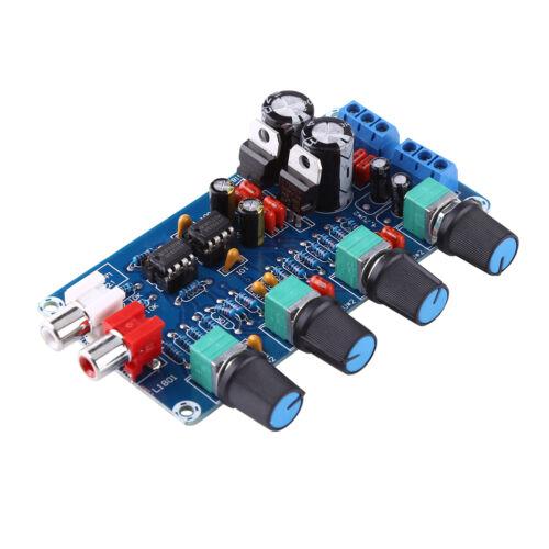 NE5532 OP-AMP DIY HIFI Preamp Preamplifier Volume Tone EQ Control Board Module U