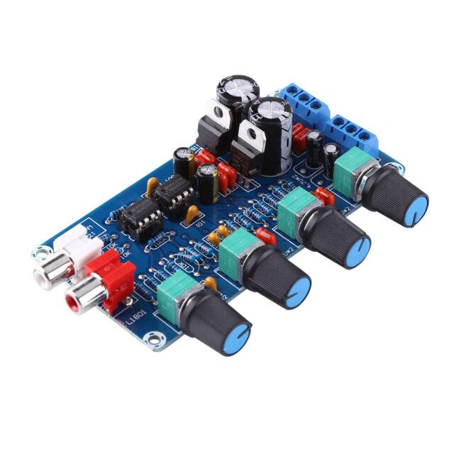 mini ne5532 preamplifier board with volume potentiometer finished