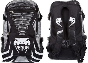 240f14c8e6b0 Venum Challenger Pro Backpack Black   Grey MMA Gym Utility Sports ...