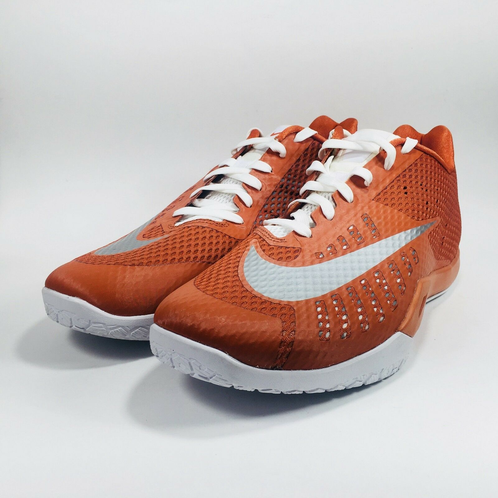 Nike Hyperlive TB Mens Basketball shoes Sneakers 834488 802 Low orange Size 14.5