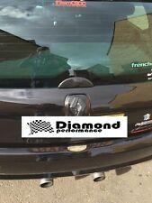 Clio Sport 172 182 16v Mk2 Carbono efecto Limpiaparabrisas Trasero blank/delete Fundicion