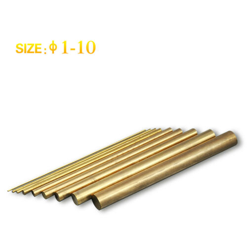 SFX-4000B Tap Burner 15 Pcs ø6 Brass Bar Round Electrodes Fits EDM-8C