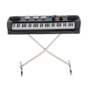 Simulation Miniature Keyboard Mini Furniture Model For 1/12 Dollhouse Toy
