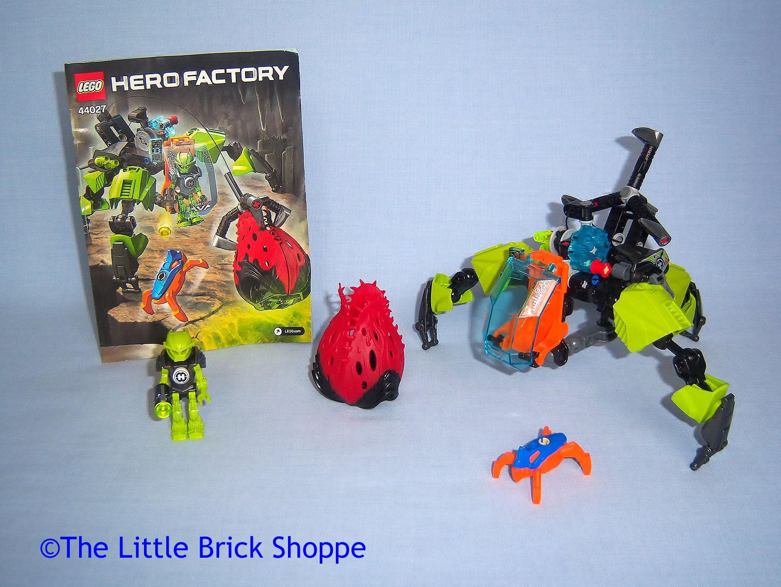 Raro Lego Hero Factory 44027 Breez Breez Breez Máquina De Pulgas-completo con instrucciones b01495