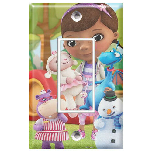 Doc McStuffins 1 Light Switch Covers Home Decor Outlet
