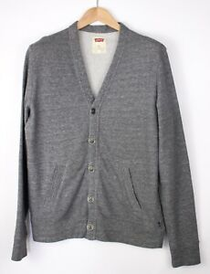 Levi's Strauss & Co Hommes Décontracté Pull Cardigan Taille M AMZ1095