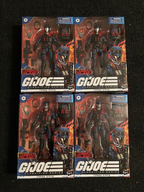 Hasbro GI Joe Classified Series Action Figure - Cobra Viper Lot of 4