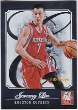 2012-13 PANINI ELITE BASE CARD: JEREMY LIN #119 ROCKETS/KNICKS/HARVARD LINSANITY