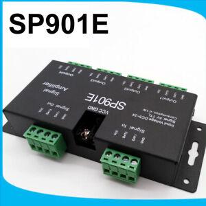 the latest b6586 e2936 Details about SP901E LED Signal Amplifier WS2811 WS2812B 5050 RGB LED Strip  DMX512 DMX Decoder