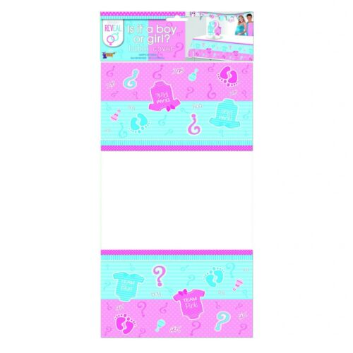 Gender Reveal Themed Tableware Party Balloons Plates Napkins Cups Invites Etc