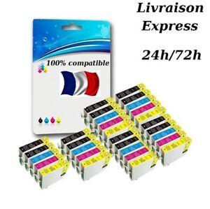 Cartouches-d-039-encre-compatibles-non-OEM-Epson-T1811-T1812-T1813-T1814