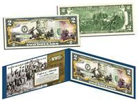 World War Ii Raising The Flag On Iwo Jima U.s. $2 Bill Legal Tender Wwii