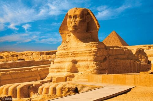 ANCIENT EGYPT TRAVEL 15551 THE GREAT SPHINX OF GIZA POSTER 22x34