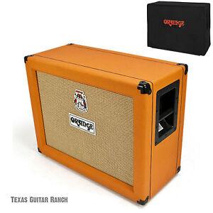 orange ppc212ob open back guitar speaker cabinet ppc 212 amp cab free cover 5060117081779 ebay. Black Bedroom Furniture Sets. Home Design Ideas