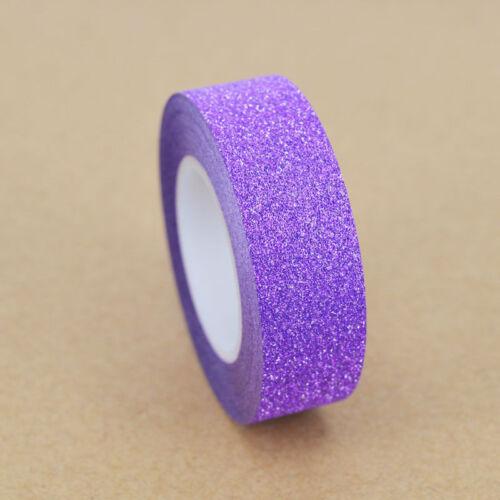 1//5//10 rolls Washi Tape Book Decor Scrapbooking Adhesive Paper Sticker Craft new