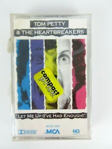 Vintage-NEW-Tom-Petty-amp-The-Heartbreakers-1987-Let-Me-Up-Cassette-Tape-Rock