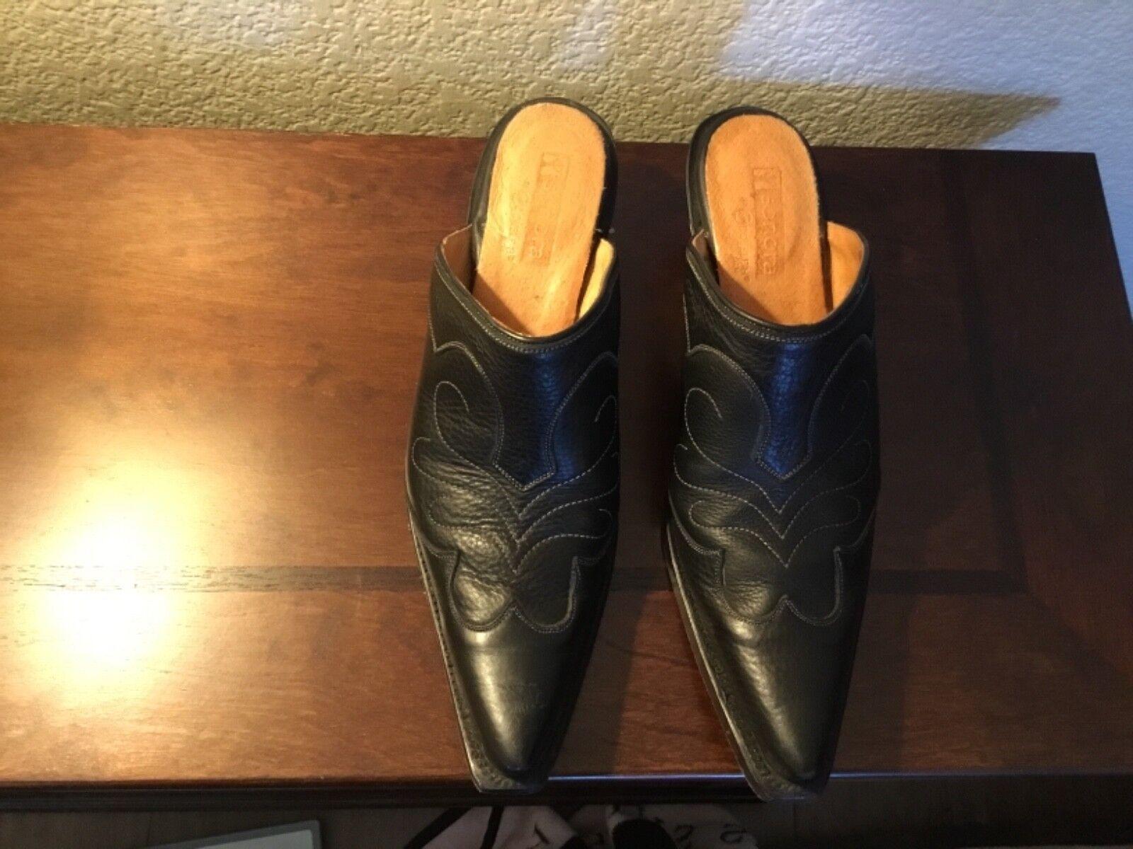 più ordine Donna SONORA stivali- stivali- stivali- Mule sz 7.5 nero. Preowned but in great condition  promozioni di squadra