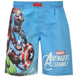 2b6781ef17 BNWT Marvel AVENGERS Boys Board/Swim Shorts 2-13y Trunks Hulk~Iron ...