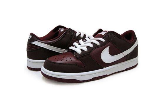624044 Sb 2002 Reflect Low Team White Pro 611 7 Nike B 5 Red 3m Dunk Burgundy xa1R47wa