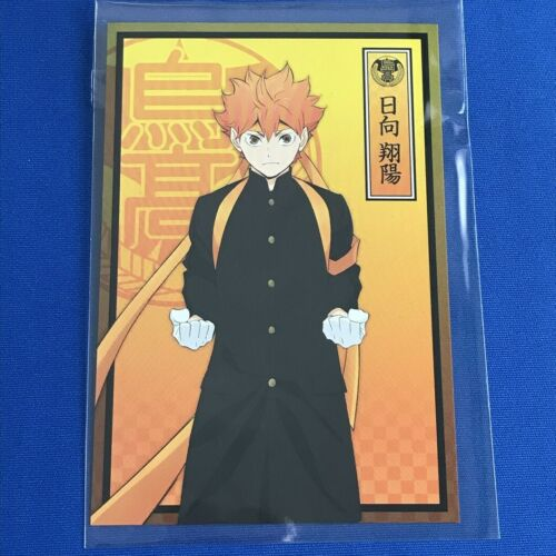 HAIKYUU Postcard Limited Oikawa Kenma Kuroo Bokuto Akaashi Hinata Kageyama