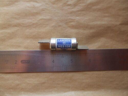 415 V AC 80Ka. Lawson MES 10 Amp BS88-6 1988 fusibile