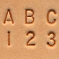 Number Set 13 Mm Standard Leather Stamp Emboss Tool 8136-00 Craftool 1 2/""