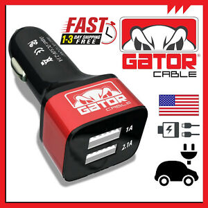 2-USB-Dual-Car-Charger-Fast-Quick-Power-Adapter-Socket-2-1A-USB-2-0-LED-5V